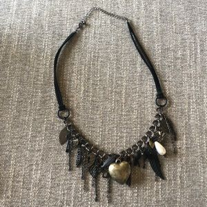 NWOT Anthropologie chart detailed necklace